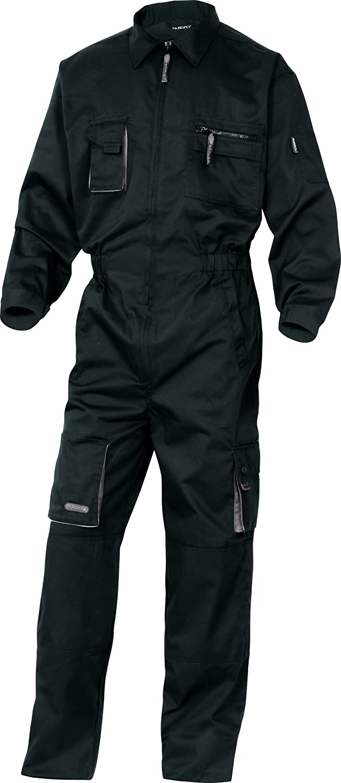Deltaplus Men's Work Wear Overalls Boiler Suit Mechanics Trouser M2COMB2