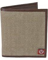 The Vegan Collection Men's Brighton Brown Bi-fold Wallet