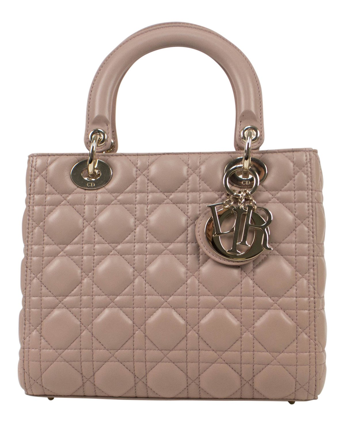 Amazon.com  Christian Dior  Lady Dior  Pink Cannage Leather Handbag  Baby 636d40645f7bb