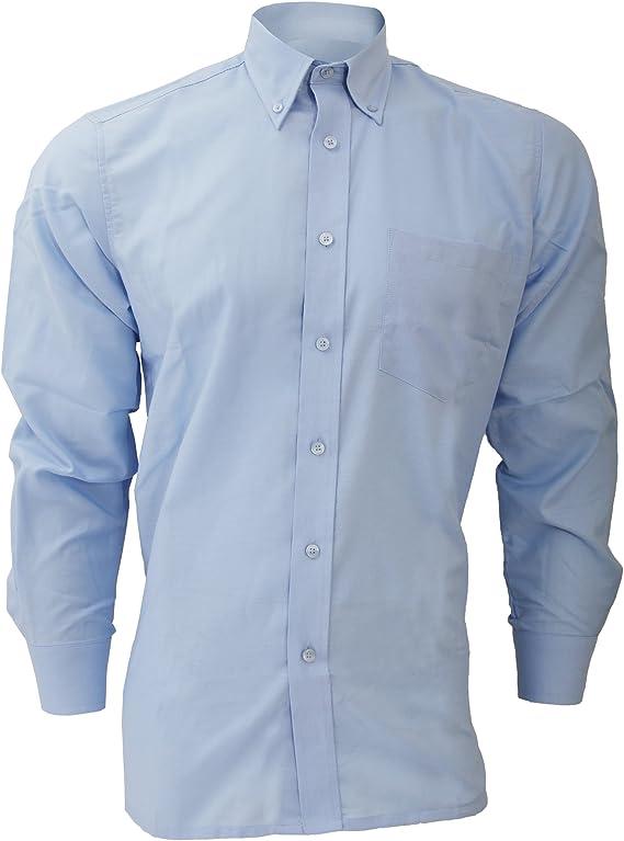 Dickies - Camisa de Manga Larga Modelo Oxford Algodón/Poliéster para Hombre Caballero - Fiesta/Trabajo/Eventos Importantes: Amazon.es: Ropa y accesorios