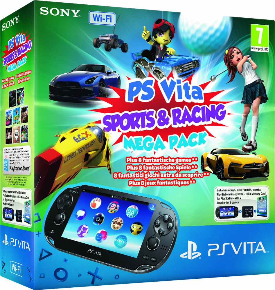 Console Playstation Vita Wifi + Sport & Course Mega Pack + ...