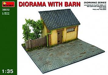 MiniArt 36032 - Diorama con cobertizo: Amazon.es: Juguetes y ...