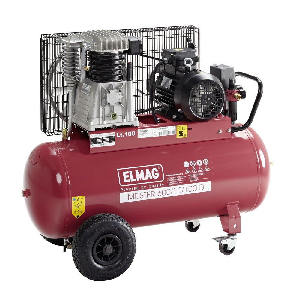 MEISTER Elmag 600/10/100 D - Calidad-compresor de aire: Amazon.es ...