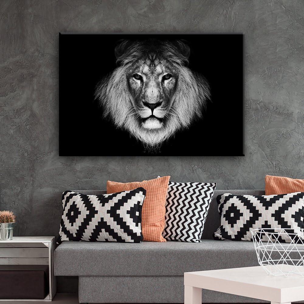 Lion Painting Modern Artwork Wall26 Lion Wall Art Home Wall Decor Lion Canvas Art Lion Canvas Wall Art Lion Canvas Print Lion Photo
