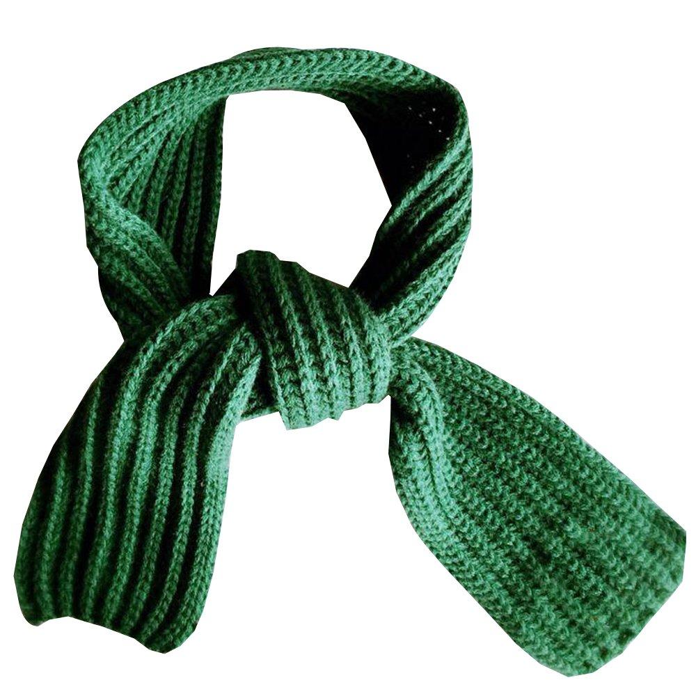 9CM BOZEVON Junge M/ädchen Baby Winter Solid Farbe Schal Warm Wolle Schal stricken 130