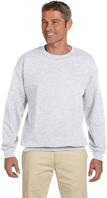 Active Fleece Crew Neck Pullover Sweater TEXFIT 2-Pack Men/'s Crewneck Sweatshirt