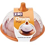 MSC International 067742-330000 Joie Clearly Fresh Airtight Onion Keeper Storage Container Pod