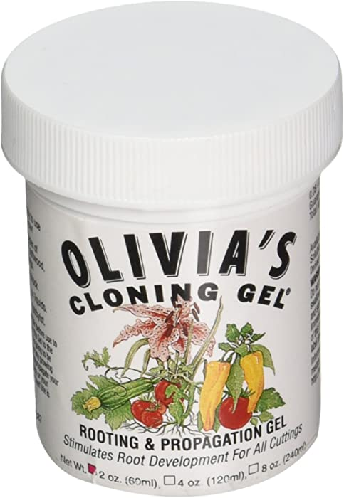 Olivia's Solution OCG1 2-Ounce Olivia's Cloning Gel for Plants fertilizers, 2 oz, Natural