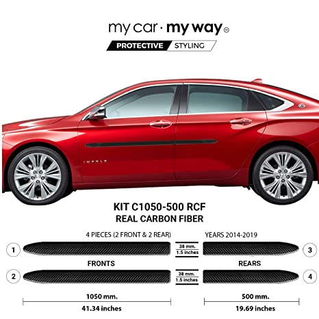 Amazon.com: My Car My Way (Fits) Chevrolet Impala 2014-2019 ...