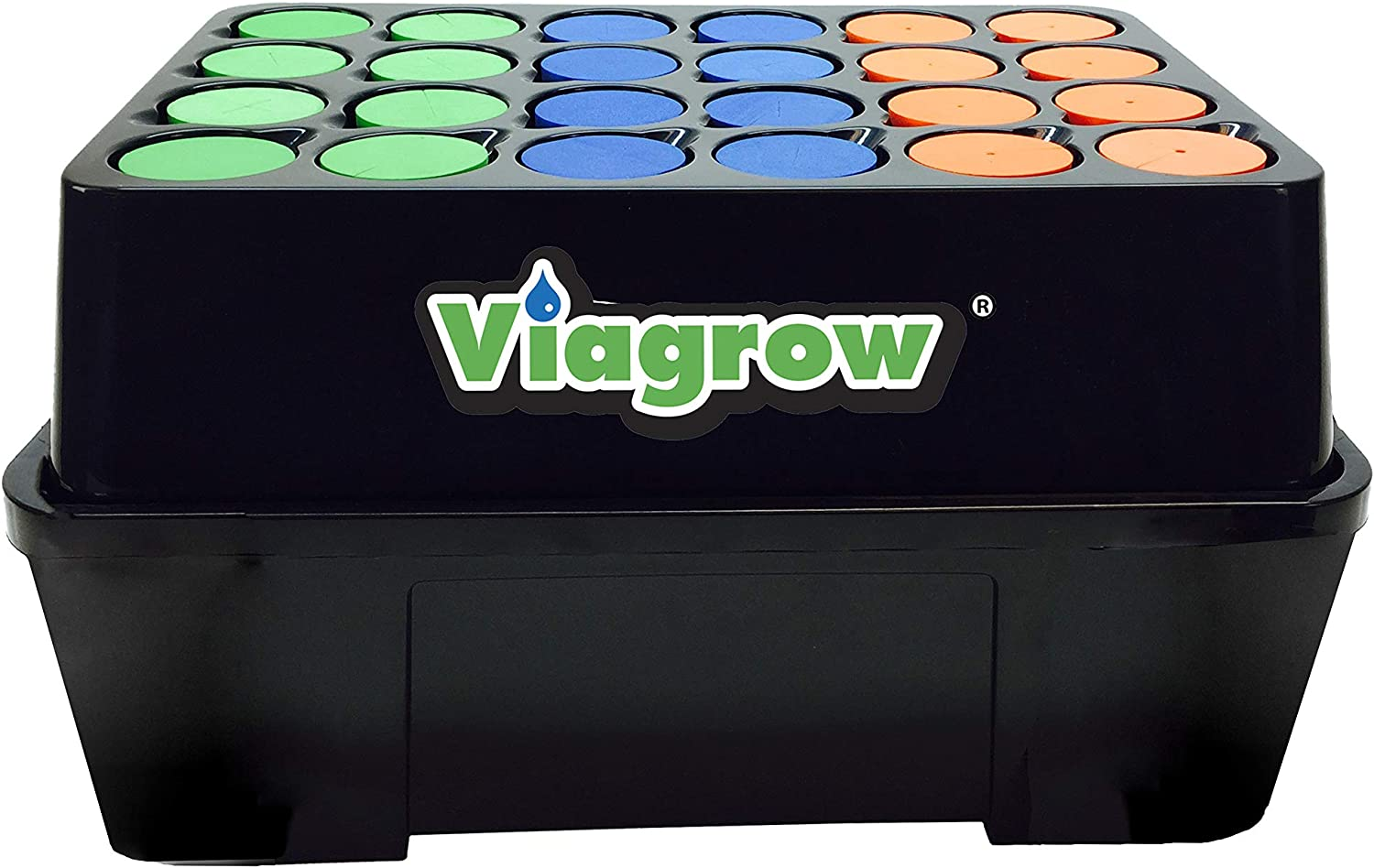 best cloning machine: Viagrow 602573081938 24 Site Aeroponic Hydroponic - all you need for cloning