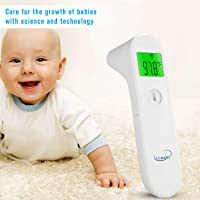 CCKARE Thermometer Digital Medical Thermometer for Baby Kids & Adults (White)