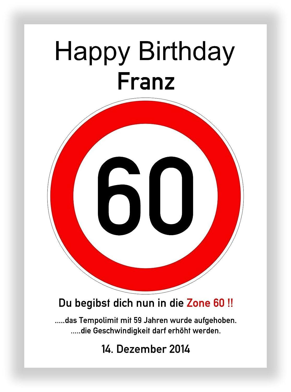 Tráfico De Caracteres 60 cumpleaños - Señal de tráfico ...