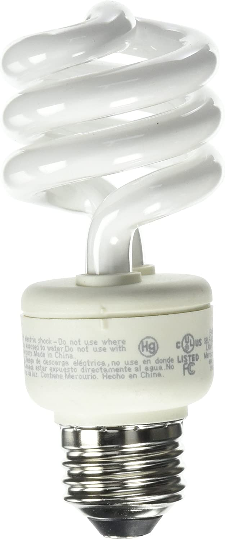 EcoSmart 60W Equivalent Soft White Spiral CFL (4-Pack)