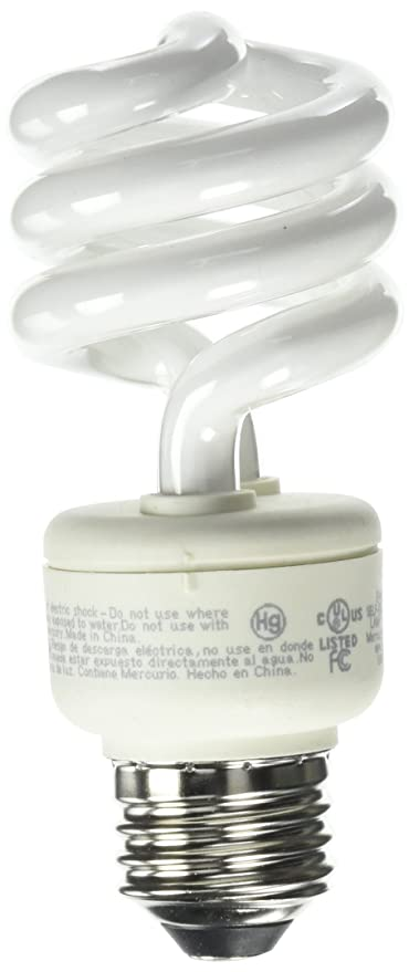Amazon.com: Ecosmart - Bombilla CFL en espiral (equivalente ...