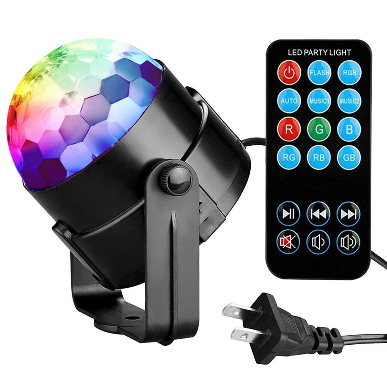 Amazoncom Party Lights Disco Ball Tabiger Disco Lights Dj Light
