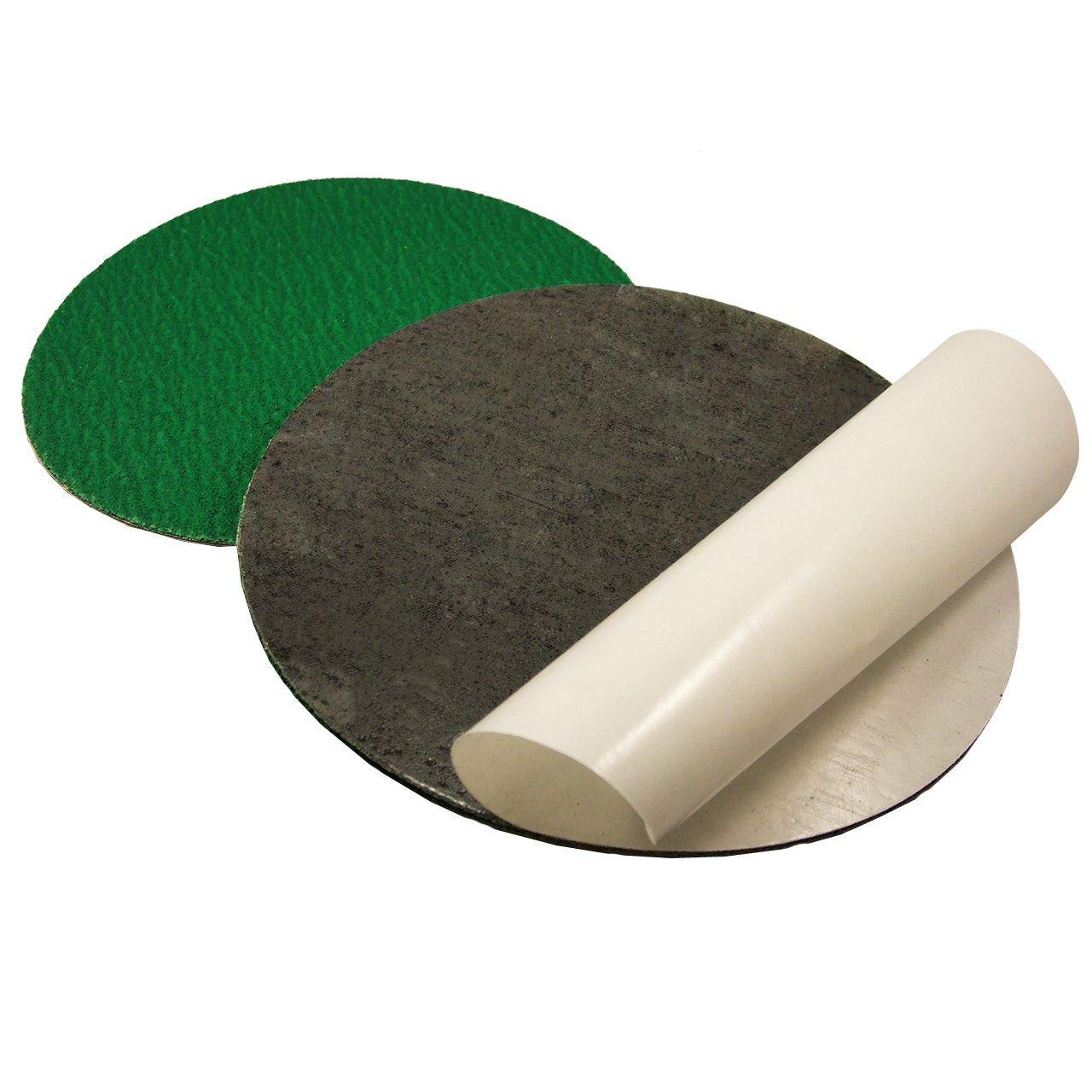 20 Inch 24 Grit Adhesive Back Metal Grinding Zirconia Sanding Disc