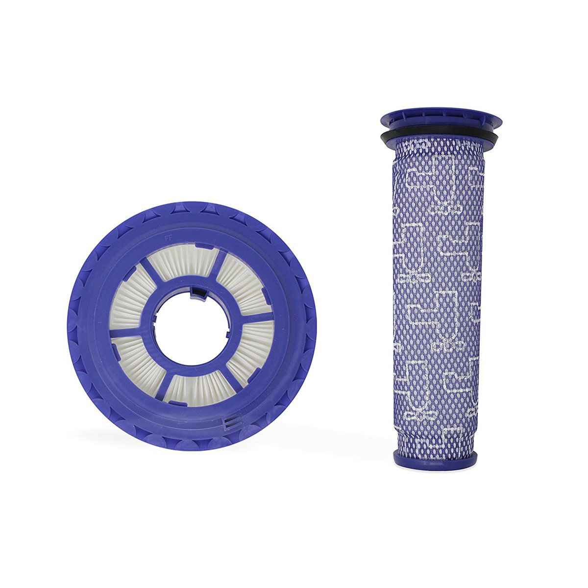 [Washable] Pre Filter & HEPA Post Filter for Dyson vacuums, Replacement Filter for Dyson DC41, DC65, DC66, Multi Floor and Animal Vacuum Cleaner Filter, Replaces Part # 920769-01 & 920640-01 - Combo P