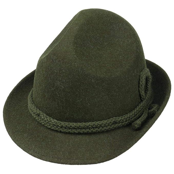 Lipodo Dreispitz Cappello in Feltro di Lana Uomo  595763d8b7d7