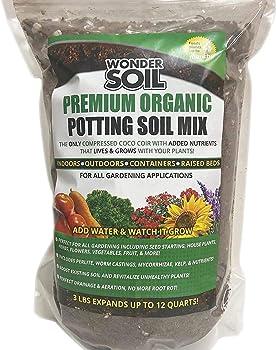 Wonder Soil Premium Organic Nutrient Rich Potting Soil