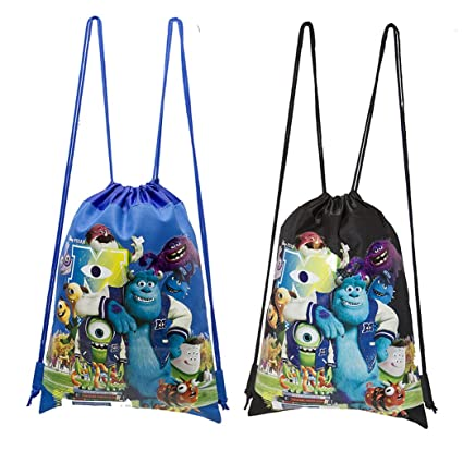 Amazon.com: Disney Monsters University Cordón bolsas set de ...