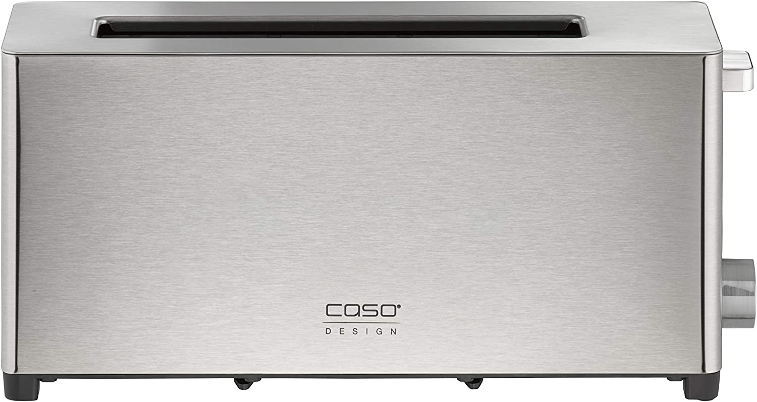Caso Design Two Slice Wide Slot Toaster, Stainless Steel, 11916, small
