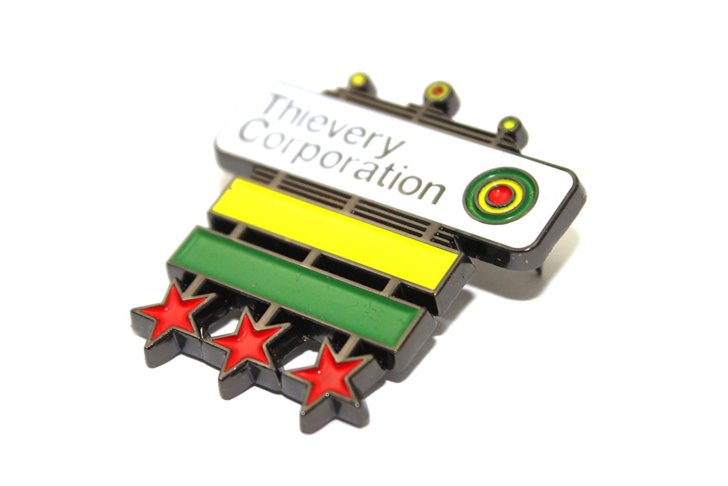 The Official Thievery Corporation 'Master General' Pin Sloth Steady
