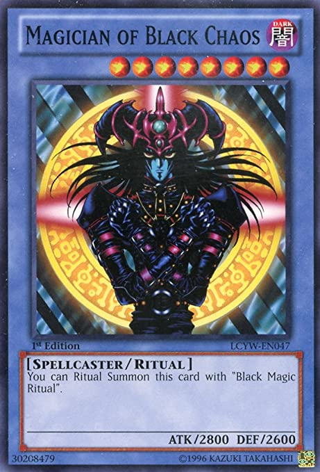 Yugioh Dark Magician LCYW-EN001 1st Secret Rare Near Mint Fast Shipping!