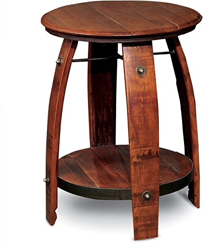 2-Day Designs Barrel Side Table