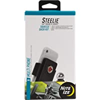Nite Ize Steelie Squeeze Dash Kit, Universal Dashboard Magnetic Car Mount Holder, Compatible With MagSafe iPhone 12 Pro…