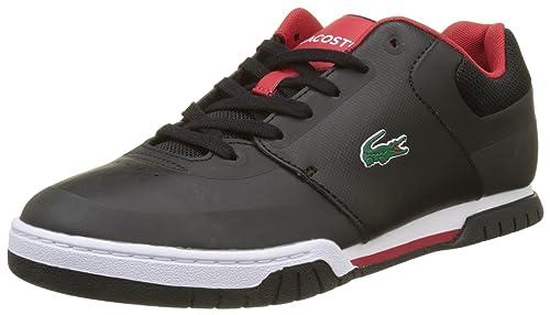 Lacoste Sport Indiana EVO 317 1, Entrenadores Bajos para Hombre, Negro  (Blk Red), 42 EU  Amazon.es  Zapatos y complementos ea8d3f937a