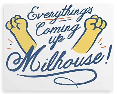 Everythings Coming Up Milhouse Canvas Print 20x16 Amazoncouk