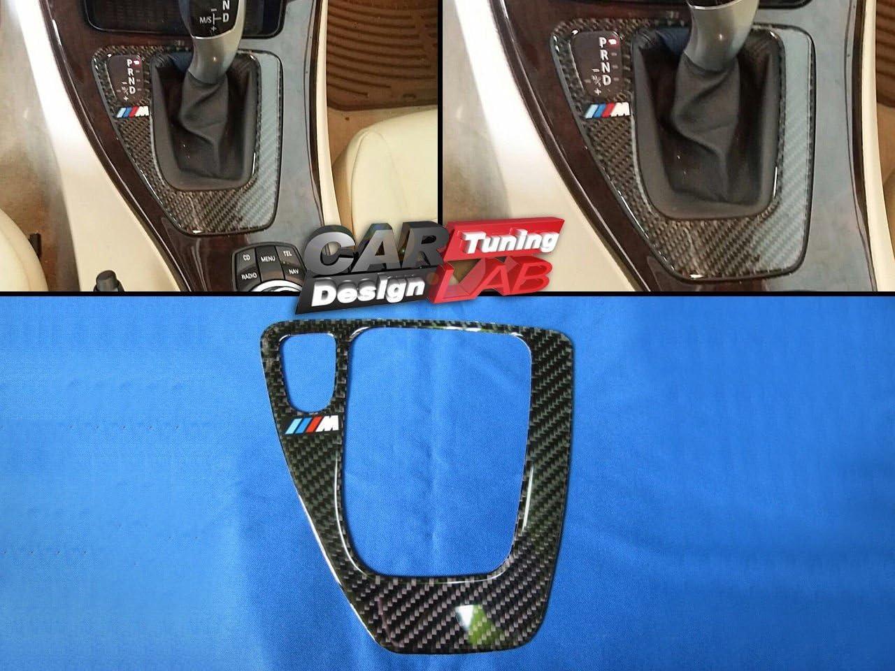 1 Automatikgetriebe Carbon Gear Shift Shifter Surround Rahmen Trim Cover Lhd Für Bmw E90 E91 E92 E93 Auto