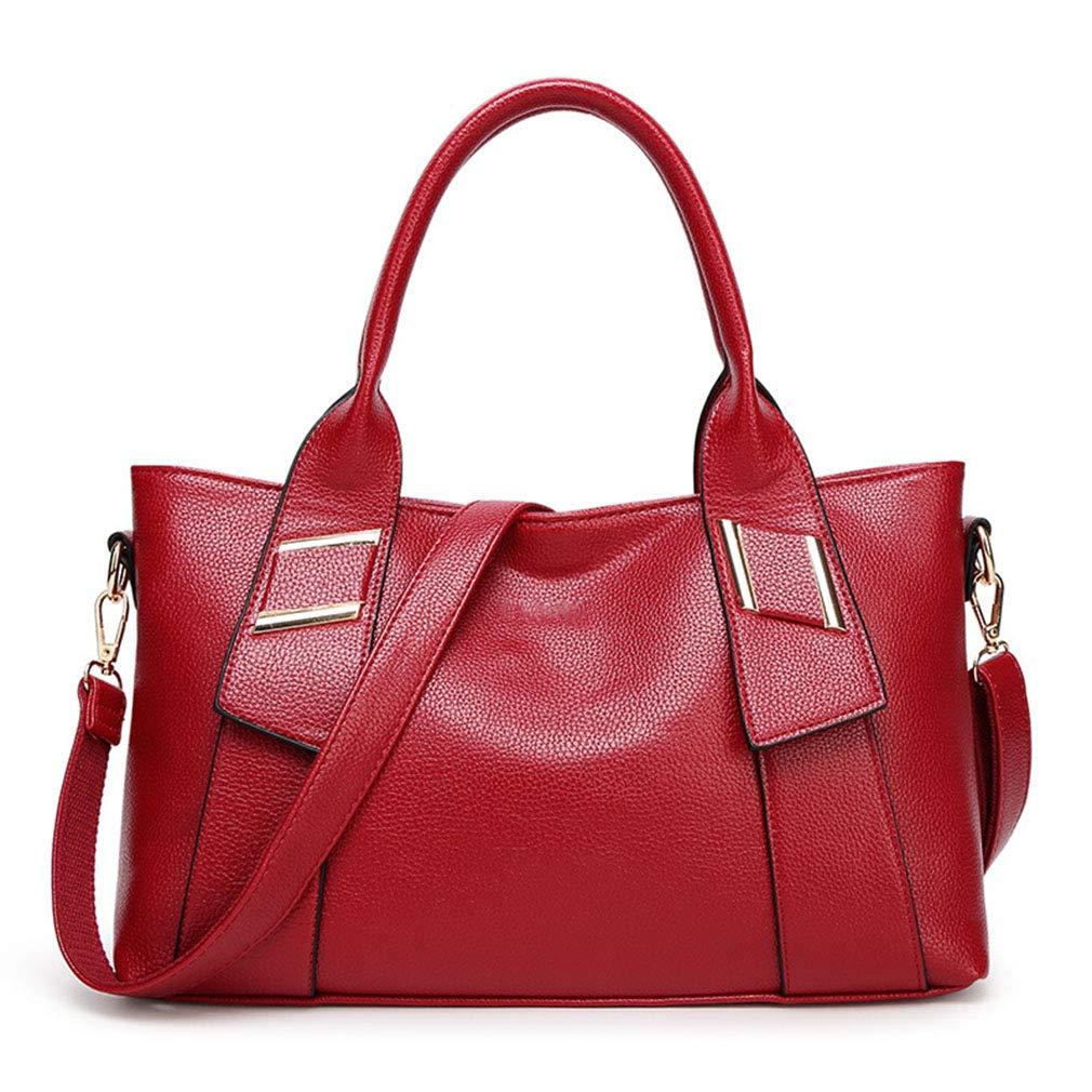 A Women's Handbag Fashion Shoulder Bag Ladies Wild Large Capacity Messenger Bag(FM)
