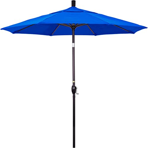 California Umbrella GSPT758117-5401 7.5' Round Aluminum Market
