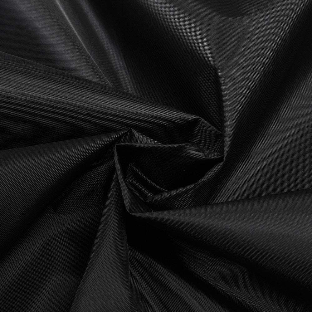 N//A Housse de Protection pour Canap/É dangle Housses de Meubles Meubles de Jardin Ext/ÉRieurs Jardin 200 * 270 * 82 * 90cm Housse Impermeable Salon de Jardin Polyester pour Terrasse Noir
