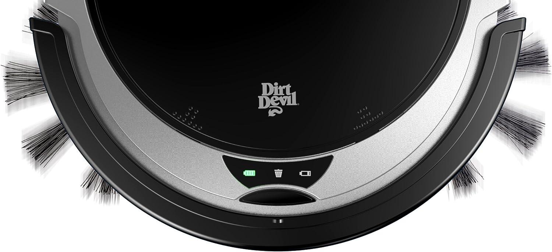 Dirt Devil Fusion aspiradora robotizada Negro, Plata 0,24 L - Aspiradoras robotizadas (Negro, Plata, Alrededor, 0,24 L, Alfombra, Níquel-metal hidruro (NiMH), 1000 mAh): Amazon.es: Hogar