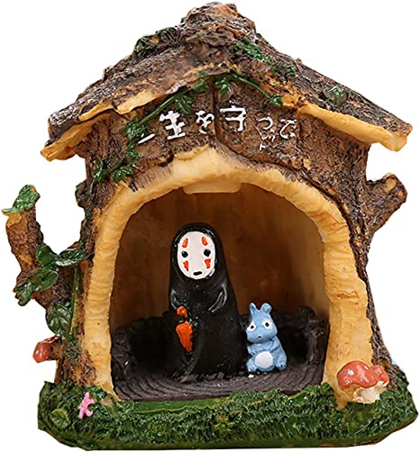 Amazon Com Spirited Away No Face Man Night Light Children Gift Kids Toy Home Decor Craft Decorative Sleep Lamp Chihiro Table Desk Lamp Miyazaki Hayao Anime Black E Home Improvement