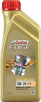 Castrol Motoröl Motorenöl Motor Motoren Öl Motor Engine Oil Diesel Benzin 0w 20 Edge Titanium Technologie Fst Ll Iv Longlife 1l Auto