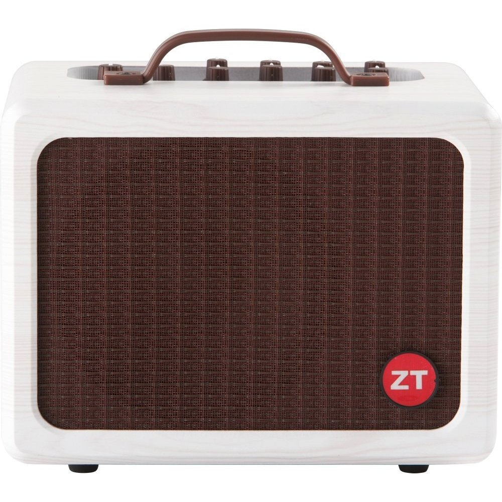 ZT Amplifiers Lunchbox Acoustic 75-watt Class A/B Acoustic Guitar/Vocal Amplifier with 6.5-inch Speaker