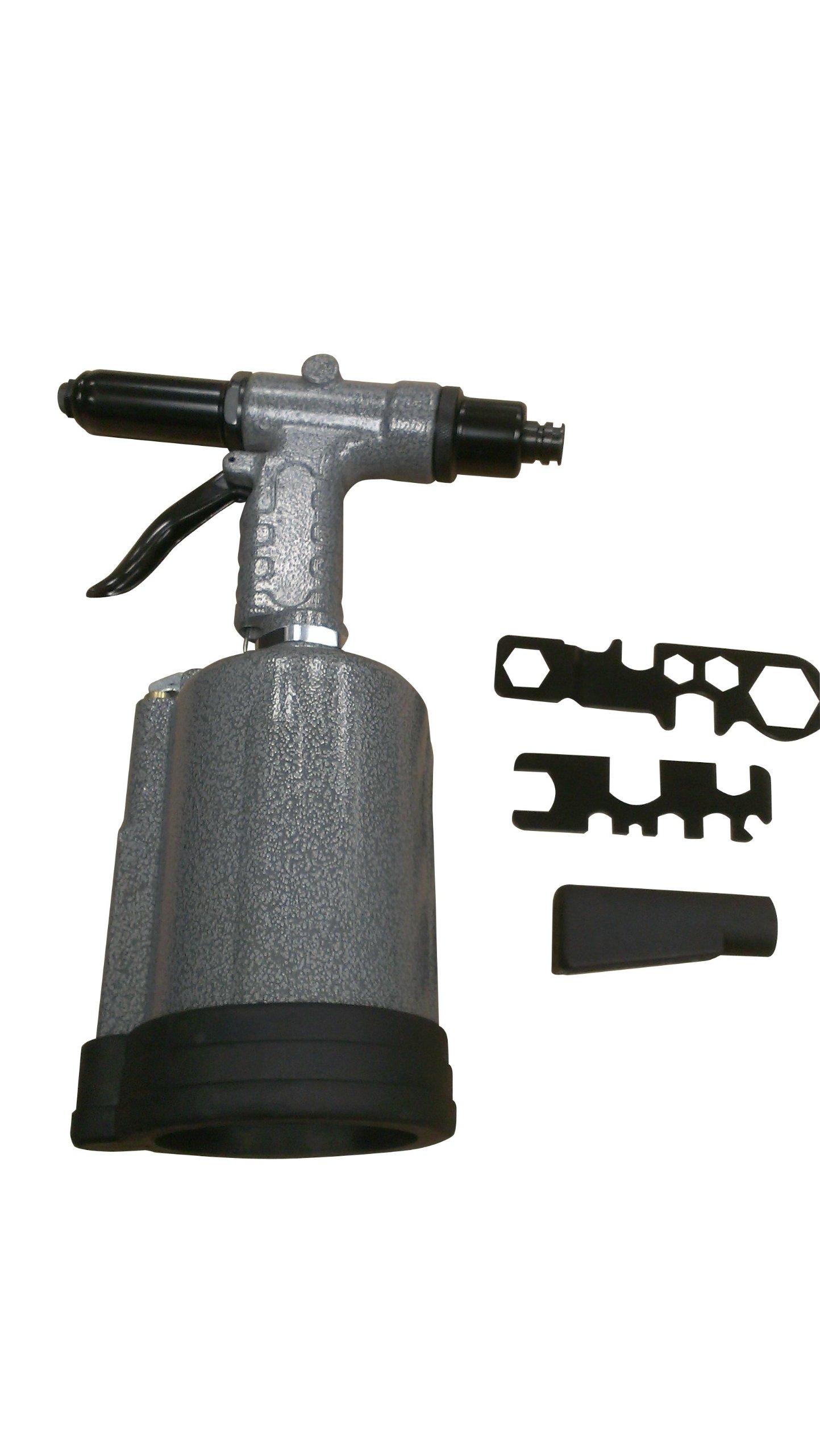 "SX1819T Sunex 3/16"" & ¼"" Heavy Duty Rivet Gun, 3960 lbF, 90PSI by Sunex Tools (Image #2)"