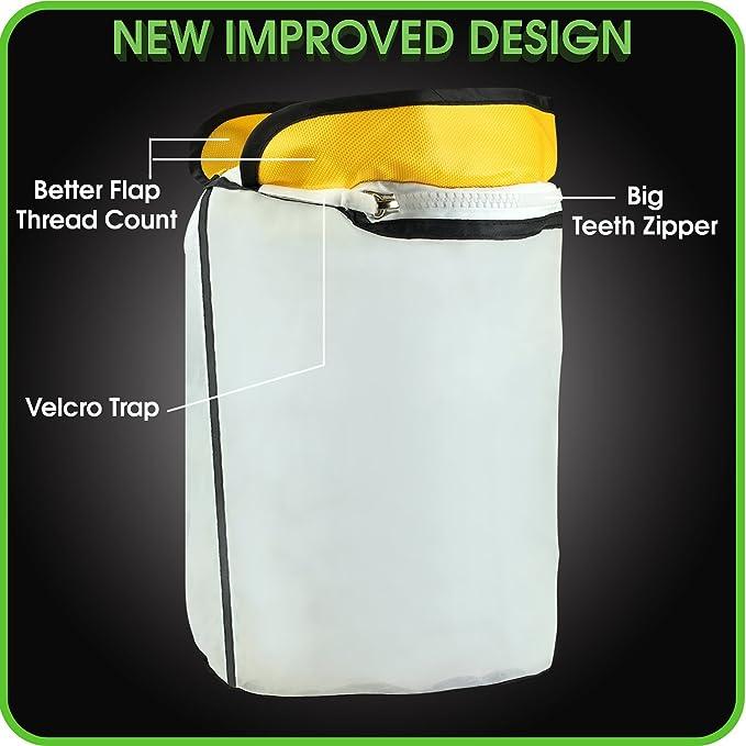 Bolsa con cremallera de 220 micras para máquina de burbujas Ice Now Magic, extractor de hierbas, bolsa de calidad, duradera y reutilizable de ...