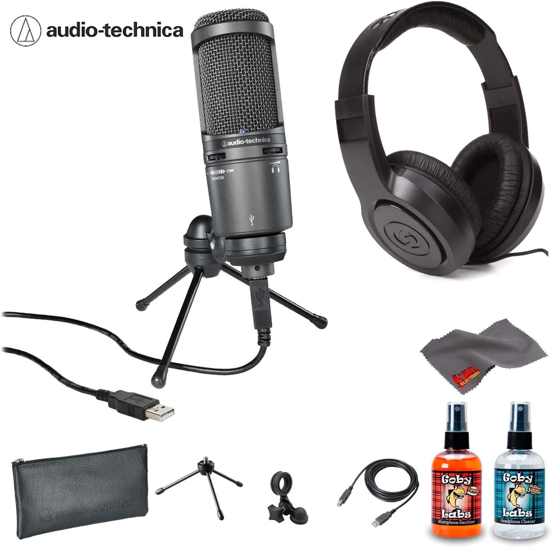 Audio-Technica AT2020USB Plus Micrófono de condensador con filtro pop