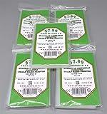 docsmagic.de Wingspan Premium Card Sleeves Bundle 5 Packs 59 x 91 - 250 Fundas