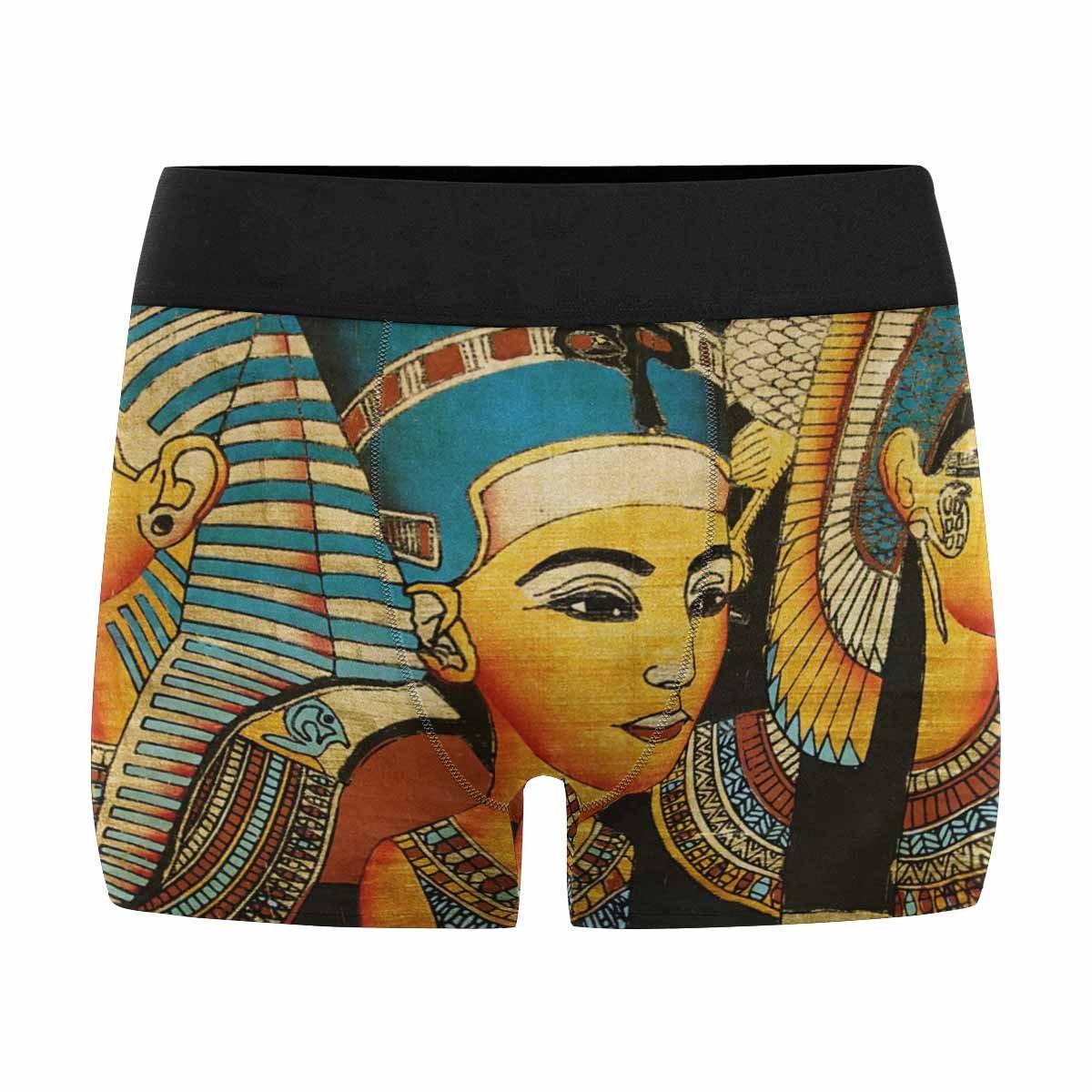 XS-3XL INTERESTPRINT Boxer Briefs Mens Underwear Ancient Egyptian Parchment