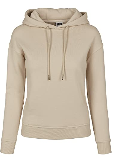 Urban Classics Ladies Melange Teddy Zip Hoody