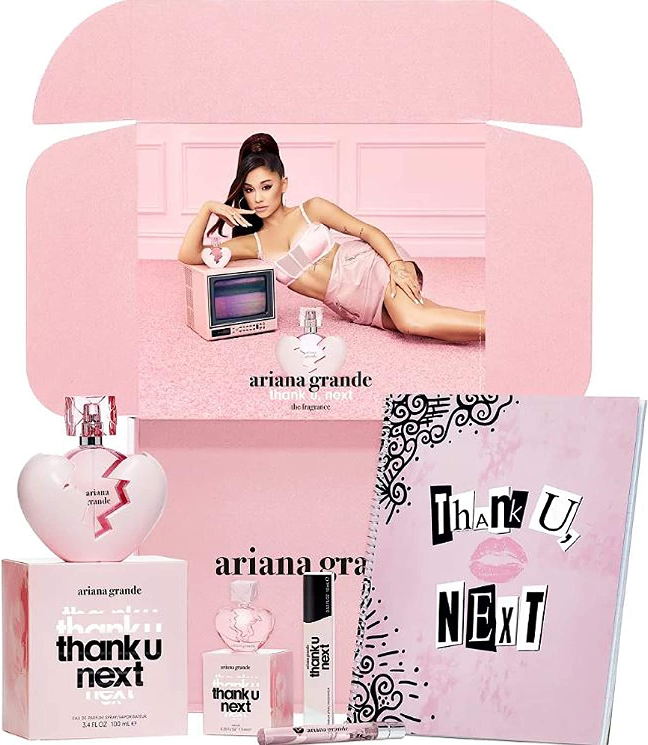 Ariana Grande Thank U Next Fan Box Set Incluye 3 Thank U