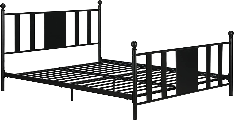 Black Full DHP 4101029 Langham Metal Bed