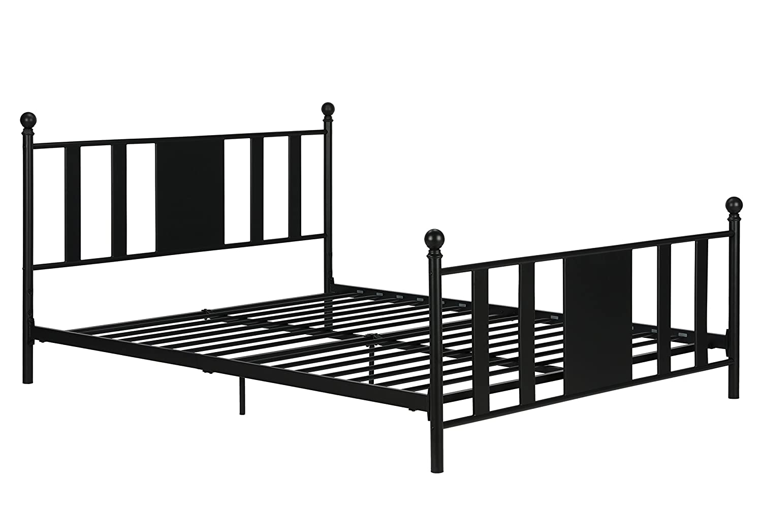 Amazon.com: DHP Langham Full Metal Bed/No box Spring Required ...