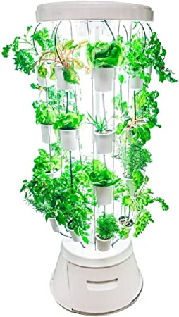 Amazon Com Nutritower Indoor Hydroponic Vertical Garden Tower Garden Outdoor