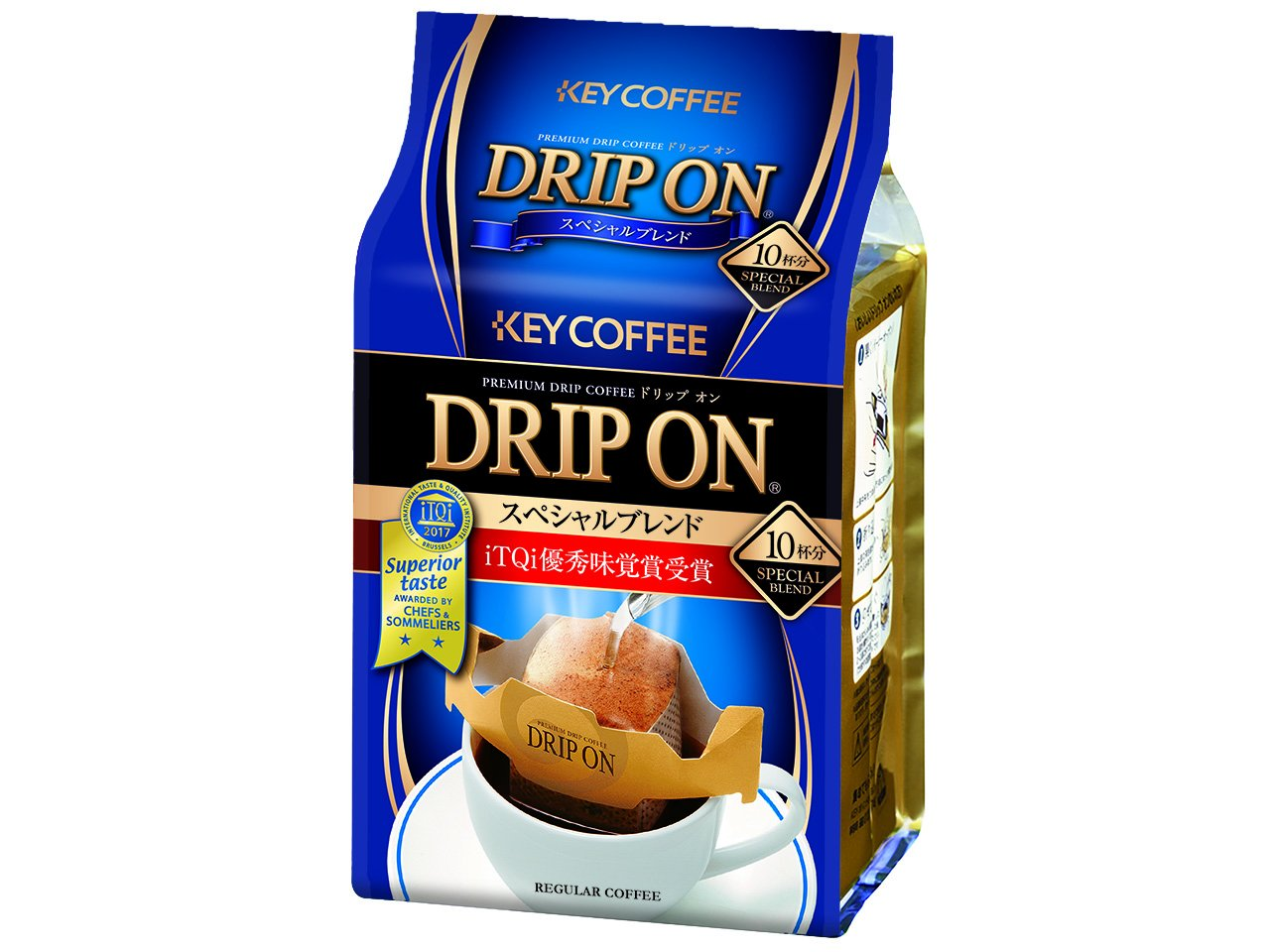 Monde Selection Award 2013 Key Coffee Special Blend Single Serve Hand Drip Coffee 10 Count